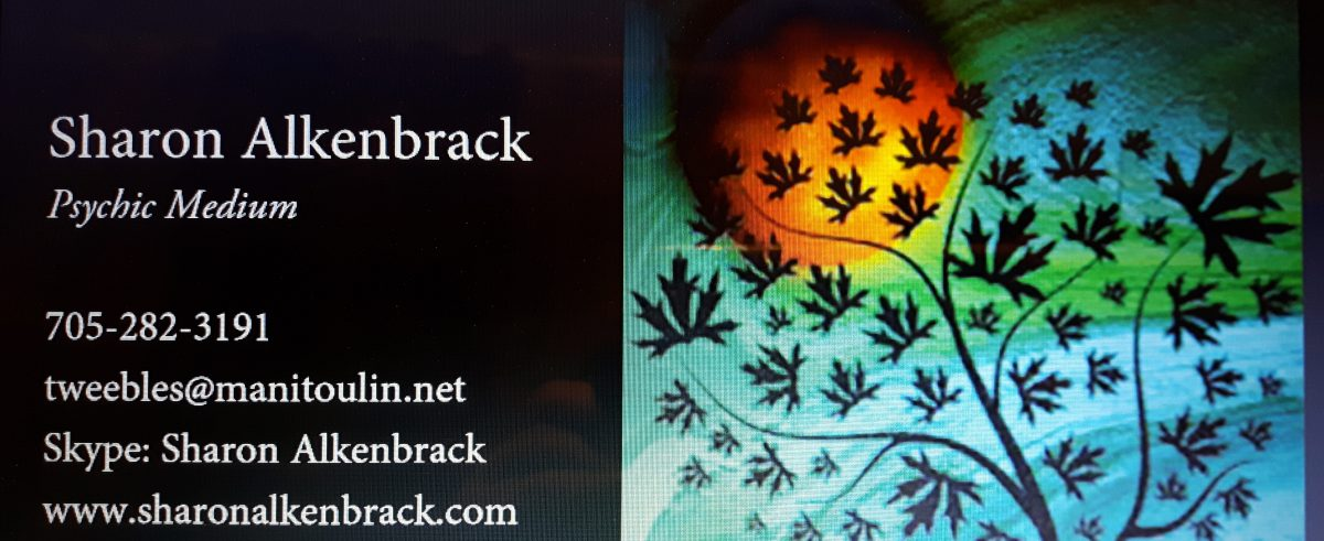 Sharon Alkenbrack – Psychic Medium